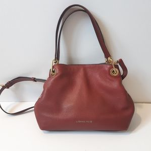 Michael Kors Leather Crossbody Purse
